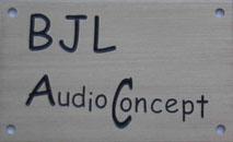 BJL audio écoute d'un amplificateur 845. Log_Bjl.AudioConcept_2007